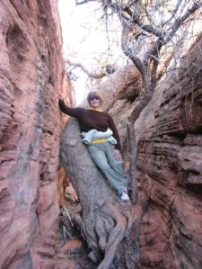 Me at Red Mountain, Utah